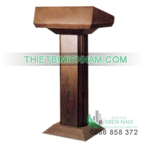 Bục phát biểu cao cấp bằng gỗ J24 1
