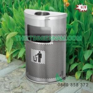 thung rac inox ngoai troi - A55jpg