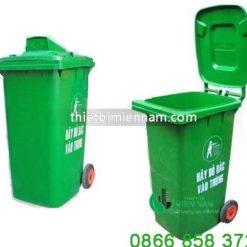 Thùng rác nhựa 120l giá rẻ 5
