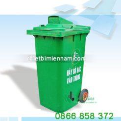 Thùng rác nhựa 120l giá rẻ 6