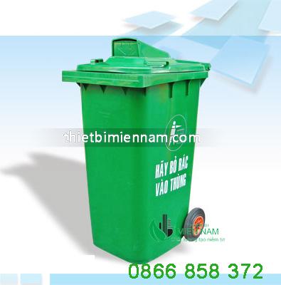 Thùng rác nhựa 120l giá rẻ 3