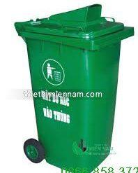 Thùng rác nhựa 120l giá rẻ 7
