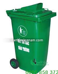 Thùng rác nhựa 120l giá rẻ 1