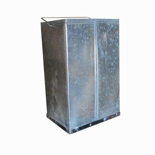 Thùng rác inox gạt tàn A34B 3