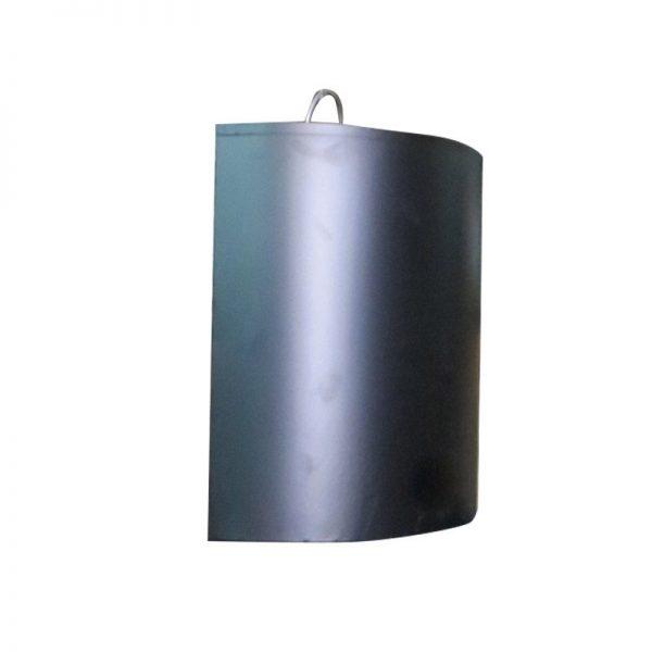 Thùng rác bán nguyệt Inox A51 3