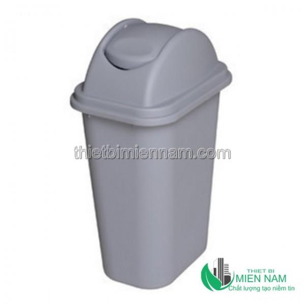 Thùng rác nhựa nắp bập bênh 35L 1
