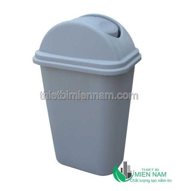 Thùng rác nhựa nắp bập bênh 35L 2