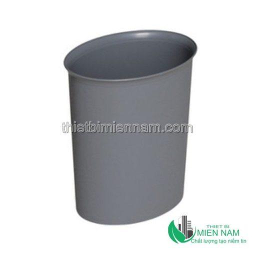 Thùng rác nhựa hình bầu dục 8L 1