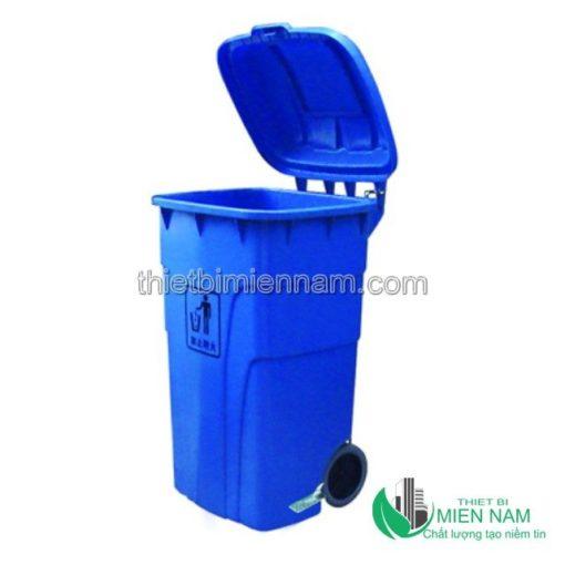 Thùng rác nhựa HDPE 240L 4