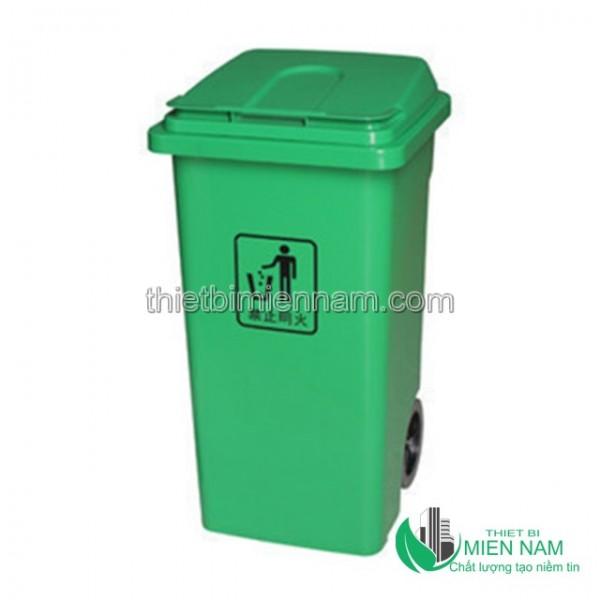 Thùng rác nhựa 100L giá rẻ 1