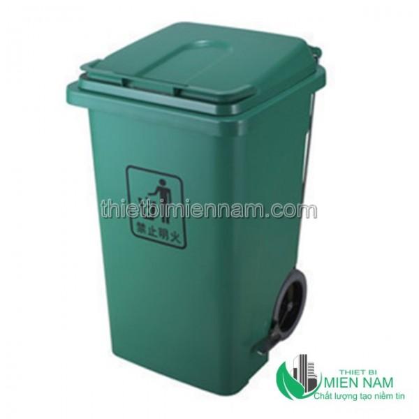Thùng rác nhựa 100L giá rẻ 4