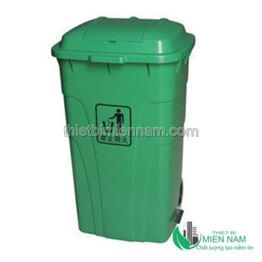 Thùng rác nhựa HDPE 240L 1