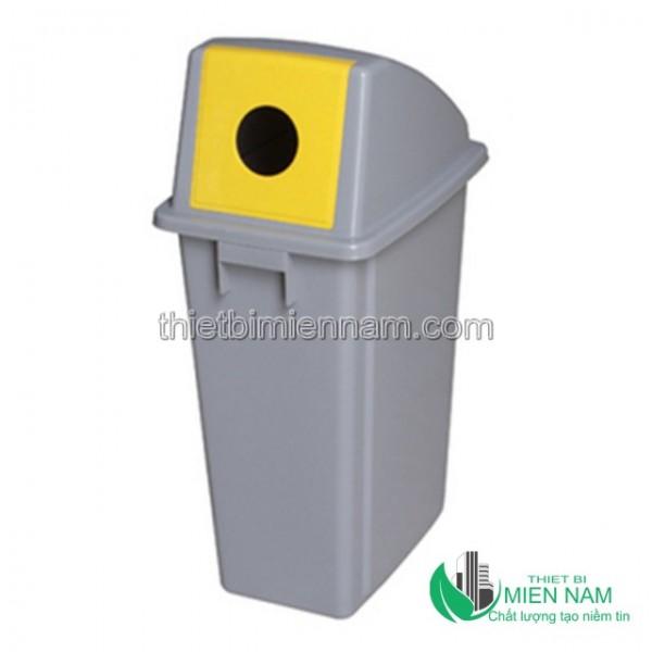 Thùng rác nhựa đặt nơi công cộng 1