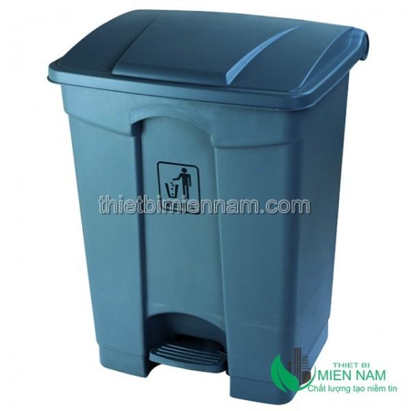 Thùng rác nhựa đạp chân 87L 1