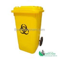 Thùng rác nhựa công nghiệp 120l 11