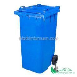 Thùng rác nhựa công nghiệp 120l 10