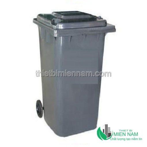 Thùng rác nhựa công nghiệp 120l 1