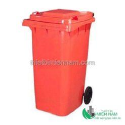 Thùng rác nhựa công nghiệp 120l 8