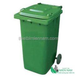 Thùng rác nhựa công nghiệp 120l 7