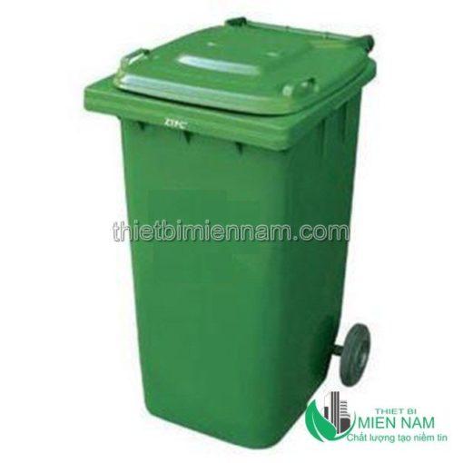 Thùng rác nhựa công nghiệp 120l 2