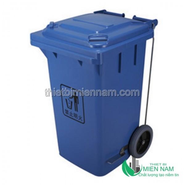 Sọt rác nhựa 100L nhập khẩu 4