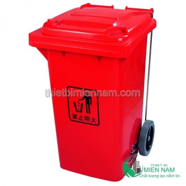 Sọt rác nhựa 100L nhập khẩu 1
