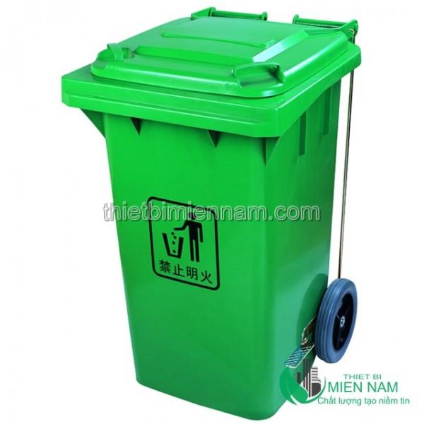 Sọt rác nhựa 100L nhập khẩu 2