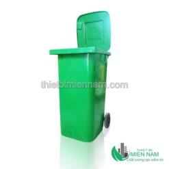 Thùng rác nhựa 2 bánh nhập khẩu 11