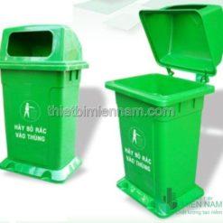 Thùng rác nhựa 68L trong bệnh viện 5