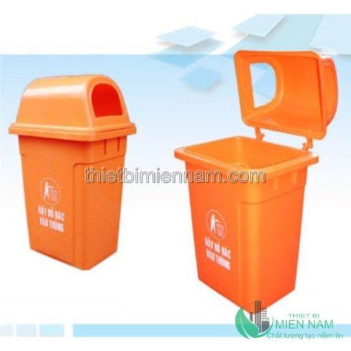Thùng rác nhựa 68L trong bệnh viện 2