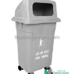 Thùng rác nhựa công cộng 95l 5