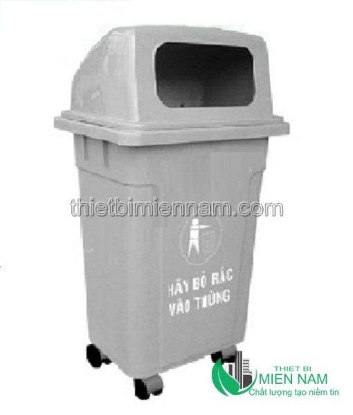 Thùng rác nhựa công cộng 95l 3