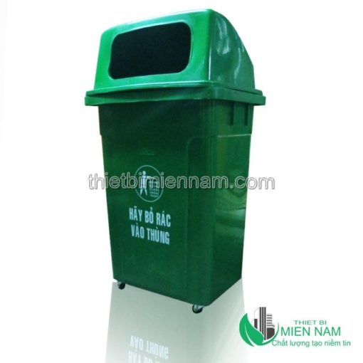 Thùng rác nhựa 68L trong bệnh viện 1