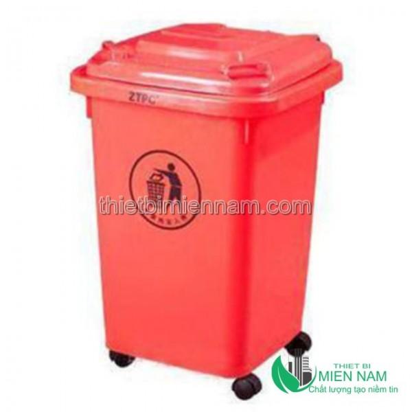 Thùng rác nhựa HDPE 50l 5