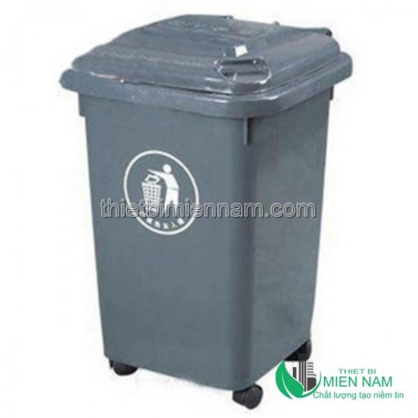 Thùng rác nhựa HDPE 50l 4