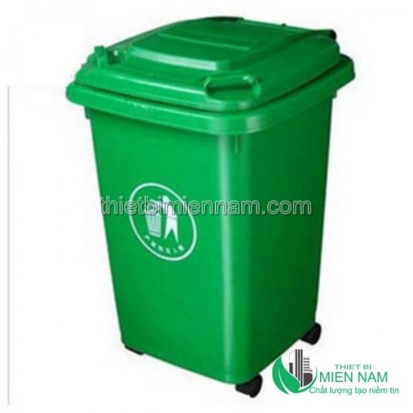 Thùng rác nhựa HDPE 50l 1
