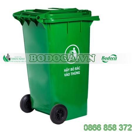 Thùng rác nhựa công nghiệp 240L tại Hà Nội 1
