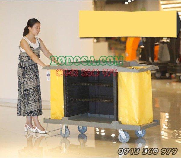 Xe làm phòng khách sạn resort bằng nhựa AF08169 4