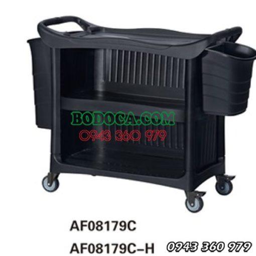 Xe đẩy thức ăn nhựa 3 tầng Bodoca AF08179C 1