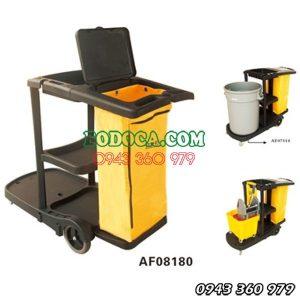 Xe làm vệ sinh công nghiệp chữ L AF08180