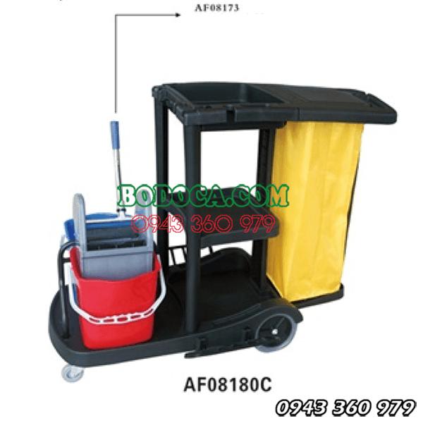 Xe làm vệ sinh đa năng nhựa AF08180C giá rẻ 1