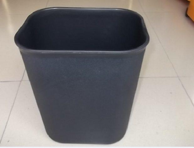 Thùng rác nhựa không nắp hình chữ nhật tại hà nội 9