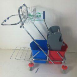 Xe làm vệ sinh có giá để đồ AF08087 4