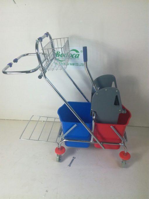 Xe làm vệ sinh có giá để đồ AF08087 2