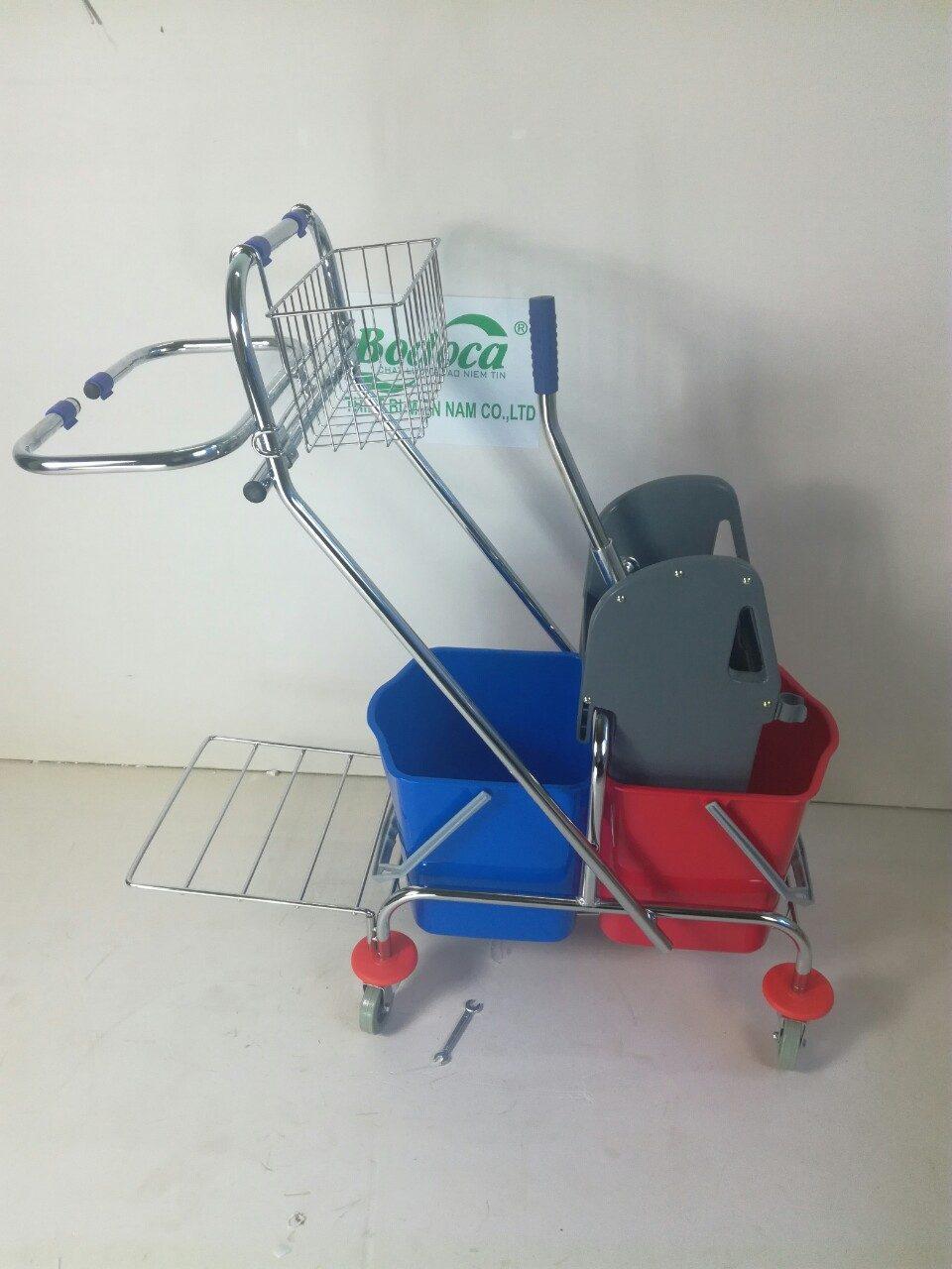 Xe làm vệ sinh có giá để đồ AF08087 8