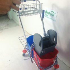 Xe làm vệ sinh có giá để đồ AF08087 5