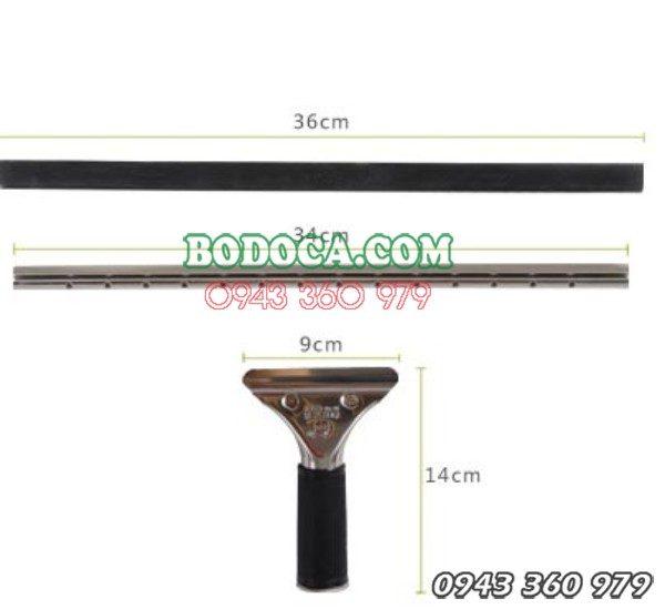 Tay gạt kính inox dài 40cm tại Hà Nội AF06103 8