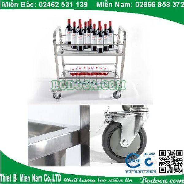 Xe inox AF08164 dùng cho quán ăn HCM 1