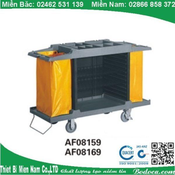 Xe dọn phòng nhưa 2 túi AF08169 giá rẻ tại HCM 1