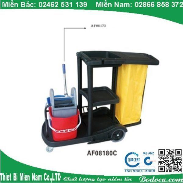 Xe vệ sinh 3 tầng chữ L AF08180C giá rẻ tại HCM 1